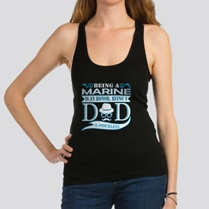 Being Marine Is Honor Being Dad Priceless Tank Top