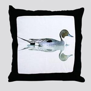 Pintail Drake Throw Pillow