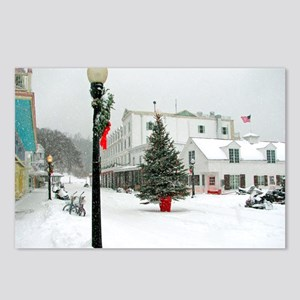 Mackinac Island Christmas Postcards (Package of 8)