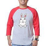 Easter Bunny Pocket Rabbit Art Mens Baseball Tee
