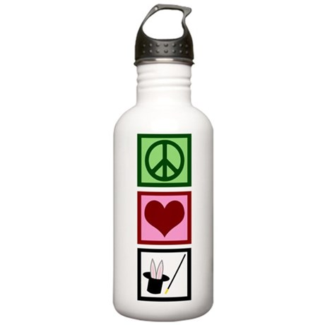 Peace Love Magic Stainless Water Bottle 1.0L