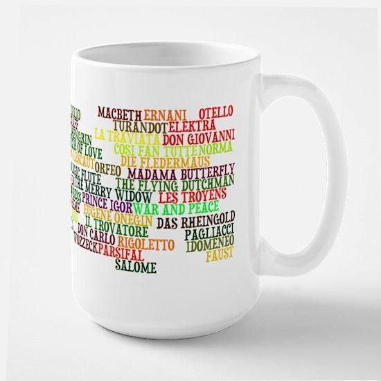 Operas Large Mug
