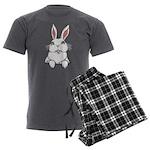 Easter Bunny Pocket Rabbit Art Men's Charcoal Paja