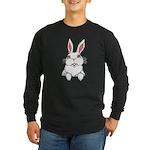 Easter Bunny Pocket Rabbit Art Long Sleeve T-Shirt