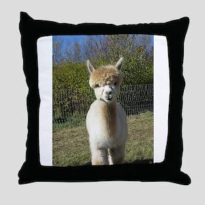Ain't She Cute! Throw Pillow