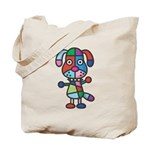 colorful dog Tote Bag