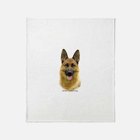 German Shepherd 9B51D-11 Throw Blanket