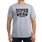 Super Dad Men's Fitted T-Shirt (dark)