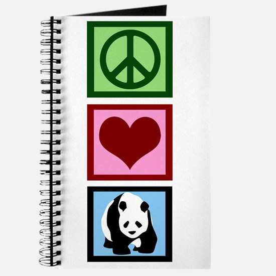 Peace Love Pandas Journal