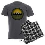 Lest We Forget Remembrance Men's Charcoal Pajamas