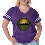 Lest We Forget Women's Plus Size Football T-Shirt