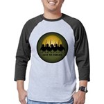 Lest We Forget Remembrance Mens Baseball Tee