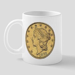 Liberty Head Double Eagle Reverse Mug