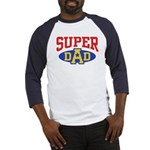 Super Dad Baseball Jersey