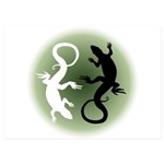 Lizard Art 5x7 Flat Cards (Set of 20)