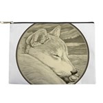 Shiba Inu Dog Art Makeup Bag