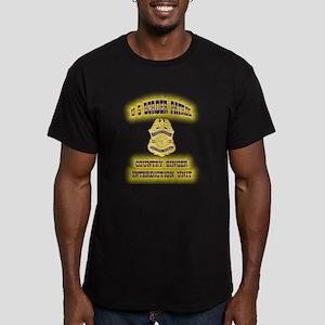 USBP Country Singer Interdict Men's Fitted T-Shirt