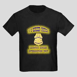 USBP Country Singer Interdict Kids Dark T-Shirt