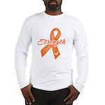 Stength Ribbon Leukemia Long Sleeve T-Shirt