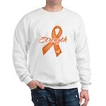 Stength Ribbon Leukemia Sweatshirt