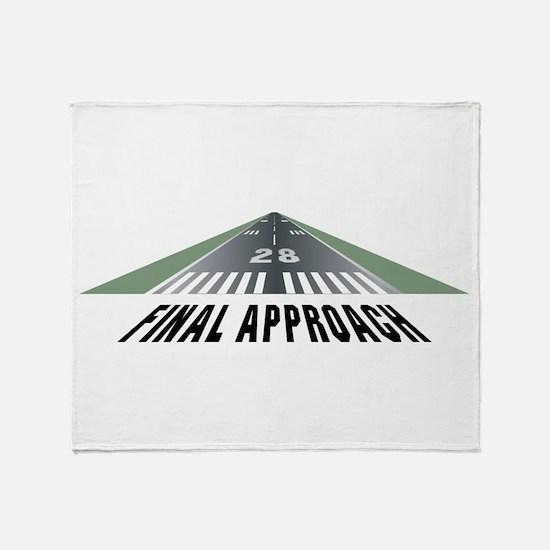 Aviation Final Approach Throw Blanket