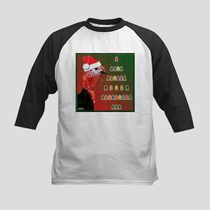 Turkey For Christmas Kids Baseball Jersey