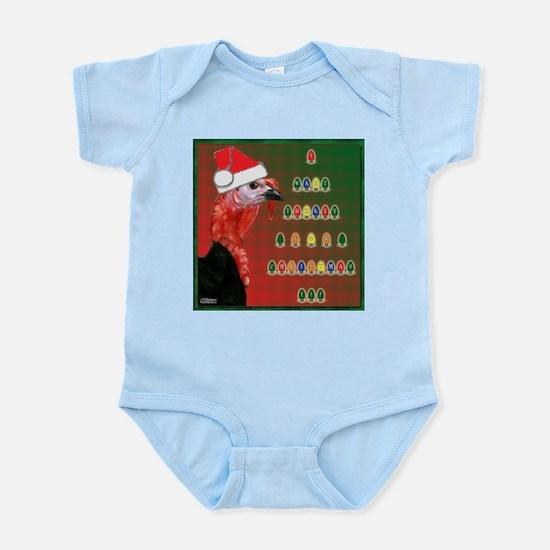 Turkey For Christmas Infant Bodysuit
