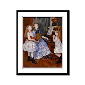 Renoir Framed Panel Print