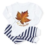 Canada Maple Leaf Souvenir Pajamas