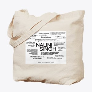 Nalini Singh: Quote Cloud Tote Bag