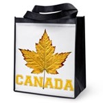 Canada Varsity Team Reusable Grocery Tote Bag
