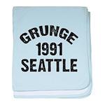 SEATTLE 1991 GRUNGE baby blanket