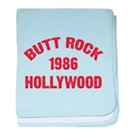 BUTT ROCK 1986 baby blanket