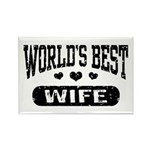 World's Best Wife Rectangle Magnet