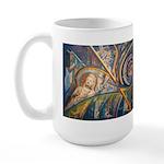 Tierra Iconos Large Mug