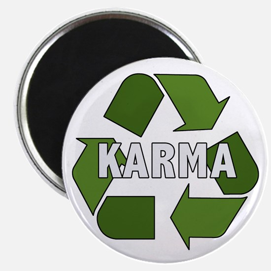 Recycle Karma Magnet
