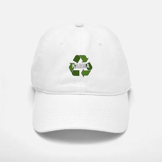Recycle Karma Baseball Baseball Cap