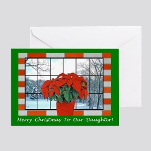 For Our Daughter Christmas Greeting Card