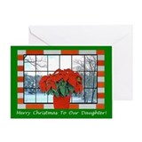 Merry christmas daughter Greeting Cards