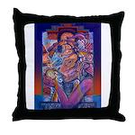 Offering to Quetzalcoatl Throw Pillow