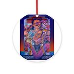 Offering to Quetzalcoatl Ornament (Round)