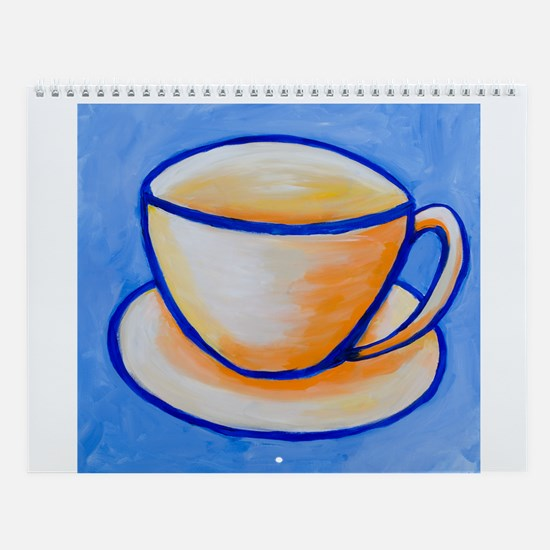 Anna Leahy 2014 Abstract Art Calendar, 8.5X11