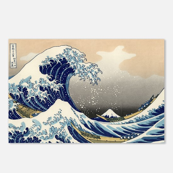 Katsushika Hokusai Postcards (Package of 8)
