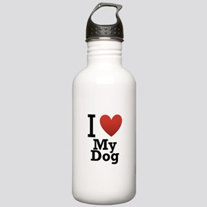 I Love My Dog Stainless Water Bottle 1.0L