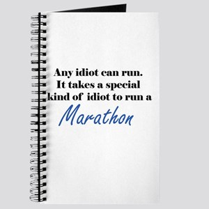 Idiot to run marathon Journal