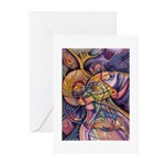 Huichol Eagle Greeting Cards (Pk of 10)