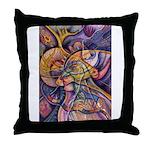 Huichol Eagle Throw Pillow