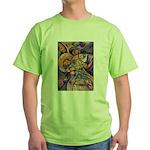 Huichol Eagle Green T-Shirt