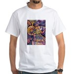 Huichol Eagle White T-Shirt