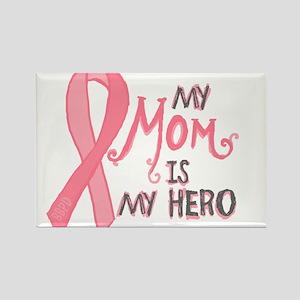 Mom Hero Rectangle Magnet